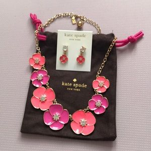 Absolutely stunning Kate Spade necklace set